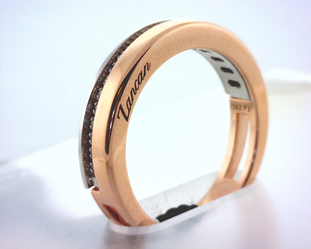 brushed edge polished band product beveled stainless flat rings and steel wedding